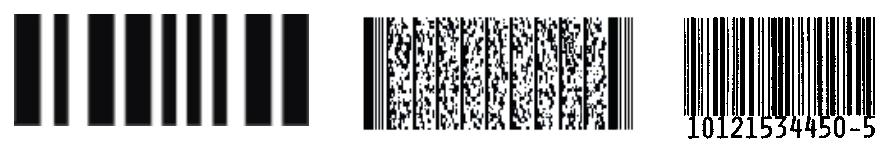 Lettura ottica, BCR (barcode, codici a barre)